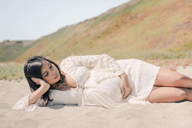 beach maternity - st germain photography00039